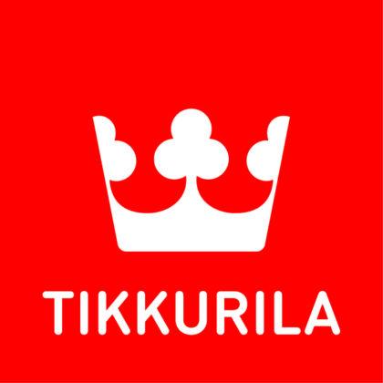 Tikkurila logo - red label - cmyk